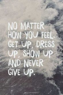 No Matter How You Feel