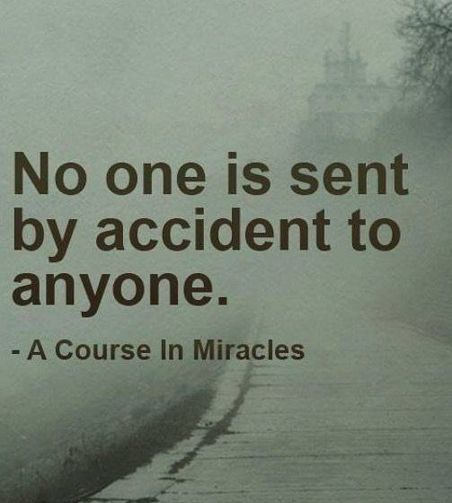 No One IS Sent by Accident