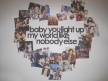 Baby you light up