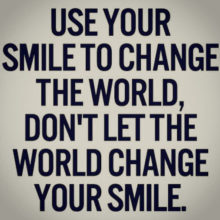 Use-Your-Smile-To-Change-The-World