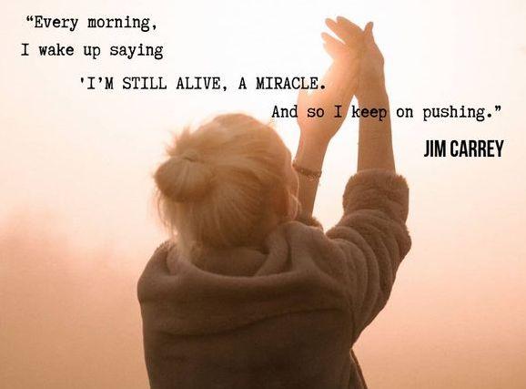 Every morning i wake up