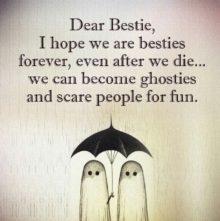 Dear Bestie I Hope We