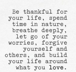 Be Thankful For Your...