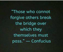 Those Who Cannot Forgive...