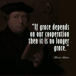 If Grace Depends On Your Cooperation Martin Luther Quotes